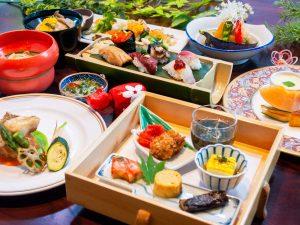 大川荘 料理