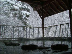 大川荘 露天風呂