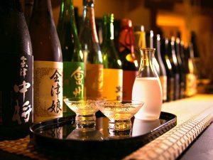 大川荘 酒