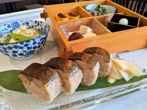 アリストンホテル京都 鯖寿司